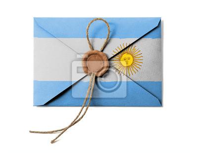 Постер Аргентина Аргентинский флагАргентина<br>Постер на холсте или бумаге. Любого нужного вам размера. В раме или без. Подвес в комплекте. Трехслойная надежная упаковка. Доставим в любую точку России. Вам осталось только повесить картину на стену!<br>