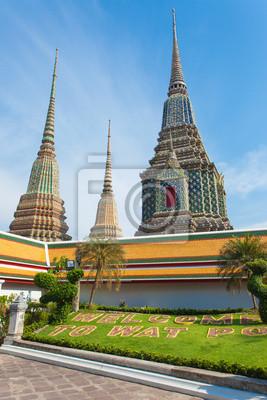 Постер Таиланд Wat phoТаиланд<br>Постер на холсте или бумаге. Любого нужного вам размера. В раме или без. Подвес в комплекте. Трехслойная надежная упаковка. Доставим в любую точку России. Вам осталось только повесить картину на стену!<br>