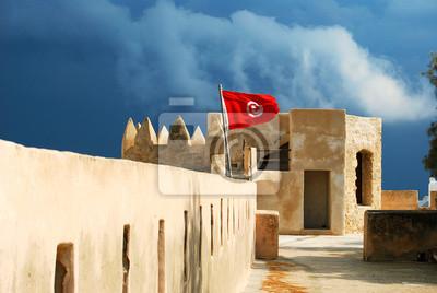 Замок в Медина Хаммамета Тунис, 30x20 см, на бумагеТунис<br>Постер на холсте или бумаге. Любого нужного вам размера. В раме или без. Подвес в комплекте. Трехслойная надежная упаковка. Доставим в любую точку России. Вам осталось только повесить картину на стену!<br>