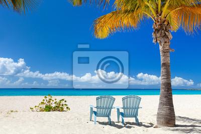 Постер Пейзаж морской Красивый пляж на КарибахПейзаж морской<br>Постер на холсте или бумаге. Любого нужного вам размера. В раме или без. Подвес в комплекте. Трехслойная надежная упаковка. Доставим в любую точку России. Вам осталось только повесить картину на стену!<br>