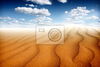 Постер Пейзажи Песок пустынного пейзажа, 30x20 см, на бумагеПейзаж песчаный<br>Постер на холсте или бумаге. Любого нужного вам размера. В раме или без. Подвес в комплекте. Трехслойная надежная упаковка. Доставим в любую точку России. Вам осталось только повесить картину на стену!<br>