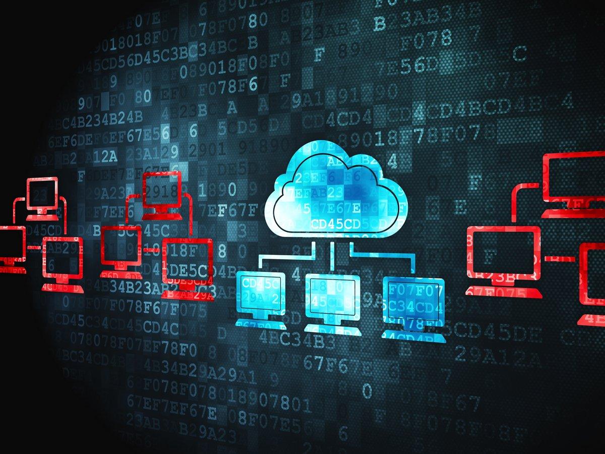 Концепция Cloud computing: Облако Технологий на цифровые фона, 27x20 см, на бумагеИнформационные технологии<br>Постер на холсте или бумаге. Любого нужного вам размера. В раме или без. Подвес в комплекте. Трехслойная надежная упаковка. Доставим в любую точку России. Вам осталось только повесить картину на стену!<br>