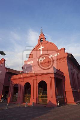 Постер Малайзия Красная церковь Христа в Melaka города,МалайзияМалайзия<br>Постер на холсте или бумаге. Любого нужного вам размера. В раме или без. Подвес в комплекте. Трехслойная надежная упаковка. Доставим в любую точку России. Вам осталось только повесить картину на стену!<br>