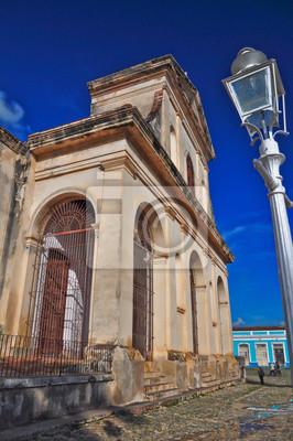 Постер Куба Тринидад-де-КубаКуба<br>Постер на холсте или бумаге. Любого нужного вам размера. В раме или без. Подвес в комплекте. Трехслойная надежная упаковка. Доставим в любую точку России. Вам осталось только повесить картину на стену!<br>