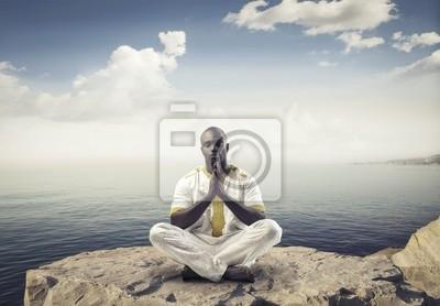 Медитация, 29x20 см, на бумагеМедитация<br>Постер на холсте или бумаге. Любого нужного вам размера. В раме или без. Подвес в комплекте. Трехслойная надежная упаковка. Доставим в любую точку России. Вам осталось только повесить картину на стену!<br>