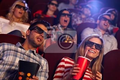 Постер Деятельность Аудитория просмотра 3D-фильмов в кино, 30x20 см, на бумагеКино<br>Постер на холсте или бумаге. Любого нужного вам размера. В раме или без. Подвес в комплекте. Трехслойная надежная упаковка. Доставим в любую точку России. Вам осталось только повесить картину на стену!<br>