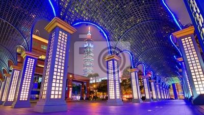 Постер Тайвань Центр Города Тайбэй, Тайвань, Городской ПейзажТайвань<br>Постер на холсте или бумаге. Любого нужного вам размера. В раме или без. Подвес в комплекте. Трехслойная надежная упаковка. Доставим в любую точку России. Вам осталось только повесить картину на стену!<br>
