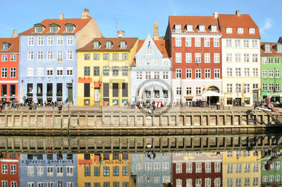 Постер Дания Nyhavn) в Копенгагене, Дания - Известный туристический объектДания<br>Постер на холсте или бумаге. Любого нужного вам размера. В раме или без. Подвес в комплекте. Трехслойная надежная упаковка. Доставим в любую точку России. Вам осталось только повесить картину на стену!<br>