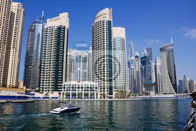 Постер ОАЭ Современных зданий в Дубай МаринеОАЭ<br>Постер на холсте или бумаге. Любого нужного вам размера. В раме или без. Подвес в комплекте. Трехслойная надежная упаковка. Доставим в любую точку России. Вам осталось только повесить картину на стену!<br>