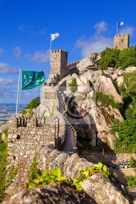 Castelo dos Mouros в Sintra, Португалия, 20x30 см, на бумагеПортугалия<br>Постер на холсте или бумаге. Любого нужного вам размера. В раме или без. Подвес в комплекте. Трехслойная надежная упаковка. Доставим в любую точку России. Вам осталось только повесить картину на стену!<br>