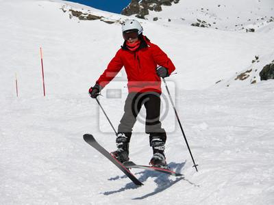 Постер Спорт Постер 50544639, 27x20 см, на бумагеГорные лыжи<br>Постер на холсте или бумаге. Любого нужного вам размера. В раме или без. Подвес в комплекте. Трехслойная надежная упаковка. Доставим в любую точку России. Вам осталось только повесить картину на стену!<br>