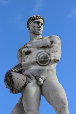 Постер Спорт Олимпийский спорт статуя - волейбол, 20x30 см, на бумагеВолейбол<br>Постер на холсте или бумаге. Любого нужного вам размера. В раме или без. Подвес в комплекте. Трехслойная надежная упаковка. Доставим в любую точку России. Вам осталось только повесить картину на стену!<br>