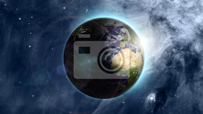 Постер Космос - разные постеры Голубая Планета в прекрасное пространствоКосмос - разные постеры<br>Постер на холсте или бумаге. Любого нужного вам размера. В раме или без. Подвес в комплекте. Трехслойная надежная упаковка. Доставим в любую точку России. Вам осталось только повесить картину на стену!<br>