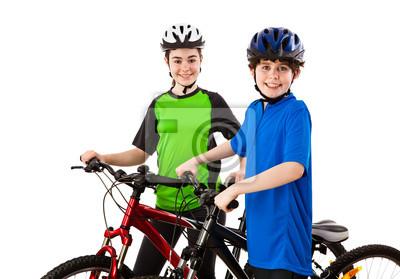 Постер Велосипедисты