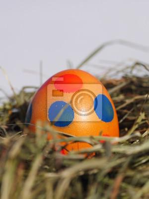 Постер Праздники Гнездо с пасхальные яйца на деревянный стол, 20x27 см, на бумаге05.05 Пасха<br>Постер на холсте или бумаге. Любого нужного вам размера. В раме или без. Подвес в комплекте. Трехслойная надежная упаковка. Доставим в любую точку России. Вам осталось только повесить картину на стену!<br>