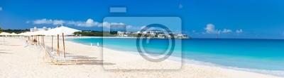 Постер Пейзаж морской Панорама красивая Карибского пляжаПейзаж морской<br>Постер на холсте или бумаге. Любого нужного вам размера. В раме или без. Подвес в комплекте. Трехслойная надежная упаковка. Доставим в любую точку России. Вам осталось только повесить картину на стену!<br>