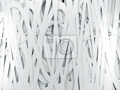 Постер Fondo abstracto blanco 3d-con lineasАбстракция<br>Постер на холсте или бумаге. Любого нужного вам размера. В раме или без. Подвес в комплекте. Трехслойная надежная упаковка. Доставим в любую точку России. Вам осталось только повесить картину на стену!<br>