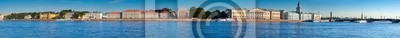 Постер Санкт-Петербург Вид на Васильевский Остров в летний деньСанкт-Петербург<br>Постер на холсте или бумаге. Любого нужного вам размера. В раме или без. Подвес в комплекте. Трехслойная надежная упаковка. Доставим в любую точку России. Вам осталось только повесить картину на стену!<br>