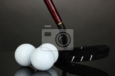 Постер Спорт Мяч для гольфа и драйвера на сером фоне, 30x20 см, на бумагеГольф<br>Постер на холсте или бумаге. Любого нужного вам размера. В раме или без. Подвес в комплекте. Трехслойная надежная упаковка. Доставим в любую точку России. Вам осталось только повесить картину на стену!<br>