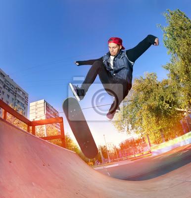 Постер Спорт Скейтбордист в скейтпарк, 20x21 см, на бумагеСкейтбординг<br>Постер на холсте или бумаге. Любого нужного вам размера. В раме или без. Подвес в комплекте. Трехслойная надежная упаковка. Доставим в любую точку России. Вам осталось только повесить картину на стену!<br>