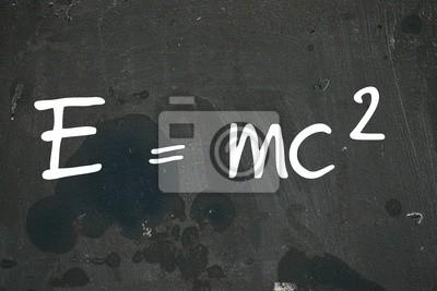 E = mc 2, 30x20 см, на бумагеФормула Эйнштейна<br>Постер на холсте или бумаге. Любого нужного вам размера. В раме или без. Подвес в комплекте. Трехслойная надежная упаковка. Доставим в любую точку России. Вам осталось только повесить картину на стену!<br>