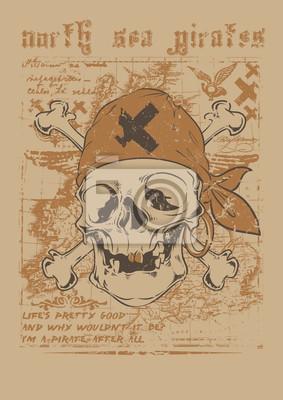 Постер Северное Море пиратыПираты<br>Постер на холсте или бумаге. Любого нужного вам размера. В раме или без. Подвес в комплекте. Трехслойная надежная упаковка. Доставим в любую точку России. Вам осталось только повесить картину на стену!<br>