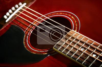Постер Деятельность Красный акустическая гитара крупным планом, 30x20 см, на бумагеМузыка<br>Постер на холсте или бумаге. Любого нужного вам размера. В раме или без. Подвес в комплекте. Трехслойная надежная упаковка. Доставим в любую точку России. Вам осталось только повесить картину на стену!<br>