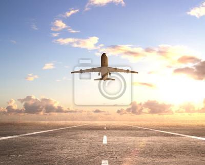 Самолет на взлетно-посадочной полосе, 25x20 см, на бумаге02.08 День Аэрофлота<br>Постер на холсте или бумаге. Любого нужного вам размера. В раме или без. Подвес в комплекте. Трехслойная надежная упаковка. Доставим в любую точку России. Вам осталось только повесить картину на стену!<br>