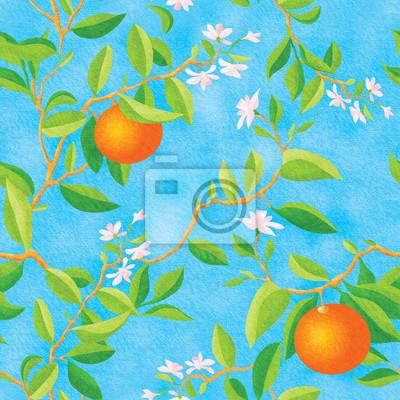 Постер Еда и напитки Цветущий апельсин, 20x20 см, на бумагеМандарины<br>Постер на холсте или бумаге. Любого нужного вам размера. В раме или без. Подвес в комплекте. Трехслойная надежная упаковка. Доставим в любую точку России. Вам осталось только повесить картину на стену!<br>