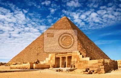 Постер Архитектура Постер 5486264, 31x20 см, на бумагеЕгипетские пирамиды<br>Постер на холсте или бумаге. Любого нужного вам размера. В раме или без. Подвес в комплекте. Трехслойная надежная упаковка. Доставим в любую точку России. Вам осталось только повесить картину на стену!<br>