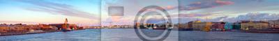 Постер Санкт-Петербург Панорама Невы на утро. Санкт-ПетербургСанкт-Петербург<br>Постер на холсте или бумаге. Любого нужного вам размера. В раме или без. Подвес в комплекте. Трехслойная надежная упаковка. Доставим в любую точку России. Вам осталось только повесить картину на стену!<br>