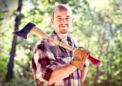 Постер 09.15 День работника леса Lumberjack портрет09.15 День работника леса<br>Постер на холсте или бумаге. Любого нужного вам размера. В раме или без. Подвес в комплекте. Трехслойная надежная упаковка. Доставим в любую точку России. Вам осталось только повесить картину на стену!<br>