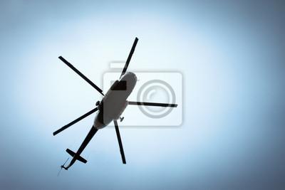Постер-картина Фото-постеры Вертолет в небе, 30x20 см, на бумагеВертолеты<br>Постер на холсте или бумаге. Любого нужного вам размера. В раме или без. Подвес в комплекте. Трехслойная надежная упаковка. Доставим в любую точку России. Вам осталось только повесить картину на стену!<br>