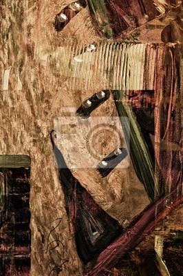 Постер Живопись МасломАбстракция<br>Постер на холсте или бумаге. Любого нужного вам размера. В раме или без. Подвес в комплекте. Трехслойная надежная упаковка. Доставим в любую точку России. Вам осталось только повесить картину на стену!<br>