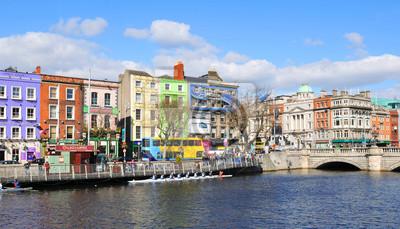 Постер Дублин Дублин, ИрландияДублин<br>Постер на холсте или бумаге. Любого нужного вам размера. В раме или без. Подвес в комплекте. Трехслойная надежная упаковка. Доставим в любую точку России. Вам осталось только повесить картину на стену!<br>