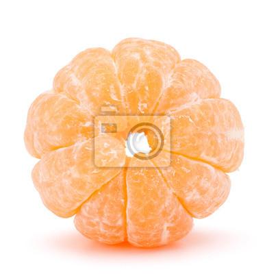Постер Еда и напитки Очищенный мандарин или фруктовых мандарина, 20x21 см, на бумагеМандарины<br>Постер на холсте или бумаге. Любого нужного вам размера. В раме или без. Подвес в комплекте. Трехслойная надежная упаковка. Доставим в любую точку России. Вам осталось только повесить картину на стену!<br>