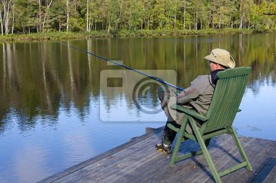 Роскошные рыбалка на озере в сентябре, 30x20 см, на бумаге07.13 День рыбака<br>Постер на холсте или бумаге. Любого нужного вам размера. В раме или без. Подвес в комплекте. Трехслойная надежная упаковка. Доставим в любую точку России. Вам осталось только повесить картину на стену!<br>