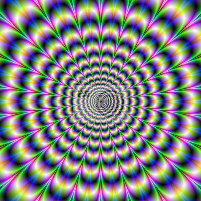Постер-картина Оптическое искусство Психоделический Пульс в фиолетовый и зеленыйОптическое искусство<br>Постер на холсте или бумаге. Любого нужного вам размера. В раме или без. Подвес в комплекте. Трехслойная надежная упаковка. Доставим в любую точку России. Вам осталось только повесить картину на стену!<br>