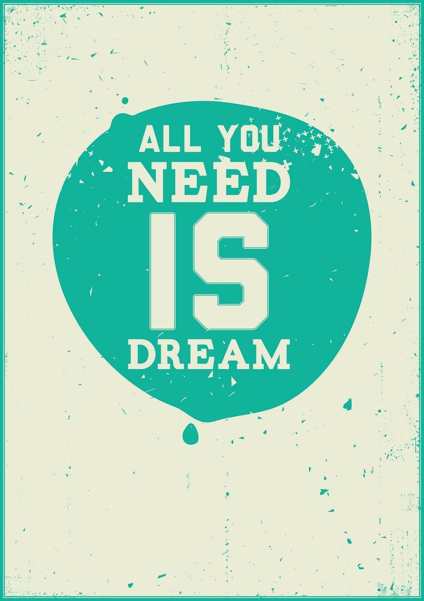 Постер-картина Мотивационный плакат Все, что вам нужно-это мечтаМотивационный плакат<br>Постер на холсте или бумаге. Любого нужного вам размера. В раме или без. Подвес в комплекте. Трехслойная надежная упаковка. Доставим в любую точку России. Вам осталось только повесить картину на стену!<br>