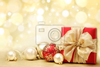 Украшенные новогодние подарки, 30x20 см, на бумаге01.07 Рождество Христово<br>Постер на холсте или бумаге. Любого нужного вам размера. В раме или без. Подвес в комплекте. Трехслойная надежная упаковка. Доставим в любую точку России. Вам осталось только повесить картину на стену!<br>