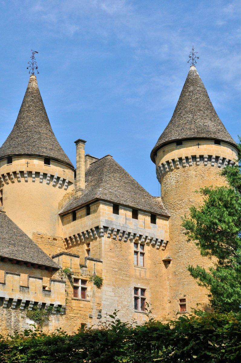 Постер Архитектура Франция, живописный замок Puymartin в Дордони, 20x30 см, на бумагеЗамки<br>Постер на холсте или бумаге. Любого нужного вам размера. В раме или без. Подвес в комплекте. Трехслойная надежная упаковка. Доставим в любую точку России. Вам осталось только повесить картину на стену!<br>