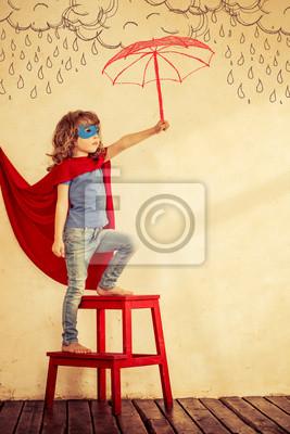 Постер Супергерой малышДети<br>Постер на холсте или бумаге. Любого нужного вам размера. В раме или без. Подвес в комплекте. Трехслойная надежная упаковка. Доставим в любую точку России. Вам осталось только повесить картину на стену!<br>