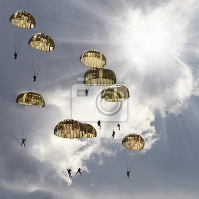 Постер 10.28 День армейской авиации Парашютистов на грозовое небо.10.28 День армейской авиации<br>Постер на холсте или бумаге. Любого нужного вам размера. В раме или без. Подвес в комплекте. Трехслойная надежная упаковка. Доставим в любую точку России. Вам осталось только повесить картину на стену!<br>