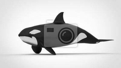 Orcinus orca, 36x20 см, на бумагеКосатки<br>Постер на холсте или бумаге. Любого нужного вам размера. В раме или без. Подвес в комплекте. Трехслойная надежная упаковка. Доставим в любую точку России. Вам осталось только повесить картину на стену!<br>