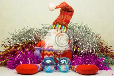 Постер Праздники Новогодние украшения, 30x20 см, на бумаге11.18 День рождения Деда Мороза<br>Постер на холсте или бумаге. Любого нужного вам размера. В раме или без. Подвес в комплекте. Трехслойная надежная упаковка. Доставим в любую точку России. Вам осталось только повесить картину на стену!<br>