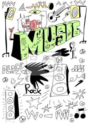 Постер Деятельность Doodle музыкальной сцене фон, рисованные элементы дизайна, 20x28 см, на бумагеМузыка<br>Постер на холсте или бумаге. Любого нужного вам размера. В раме или без. Подвес в комплекте. Трехслойная надежная упаковка. Доставим в любую точку России. Вам осталось только повесить картину на стену!<br>