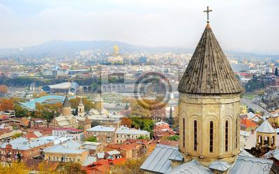Постер Тбилиси Tbilisi skylineТбилиси<br>Постер на холсте или бумаге. Любого нужного вам размера. В раме или без. Подвес в комплекте. Трехслойная надежная упаковка. Доставим в любую точку России. Вам осталось только повесить картину на стену!<br>