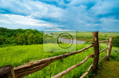 Типичный русский пейзаж, 30x20 см, на бумаге01.11 День заповедников и национальных парков<br>Постер на холсте или бумаге. Любого нужного вам размера. В раме или без. Подвес в комплекте. Трехслойная надежная упаковка. Доставим в любую точку России. Вам осталось только повесить картину на стену!<br>