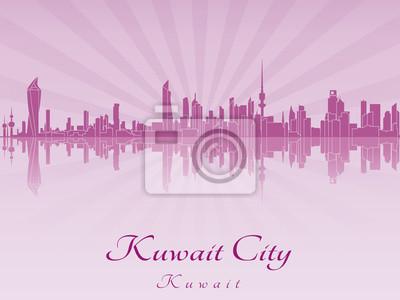 Постер Кувейт Kuwait City skyline в фиолетовый цвет radiant orchidКувейт<br>Постер на холсте или бумаге. Любого нужного вам размера. В раме или без. Подвес в комплекте. Трехслойная надежная упаковка. Доставим в любую точку России. Вам осталось только повесить картину на стену!<br>