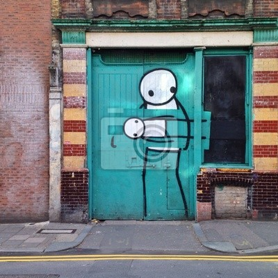 Постер-картина Стрит-арт Восточный Лондон ГраффитиСтрит-арт<br>Постер на холсте или бумаге. Любого нужного вам размера. В раме или без. Подвес в комплекте. Трехслойная надежная упаковка. Доставим в любую точку России. Вам осталось только повесить картину на стену!<br>